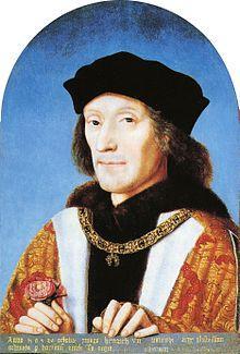 Family of Henry Tudor - King Henry VII and Elizabeth